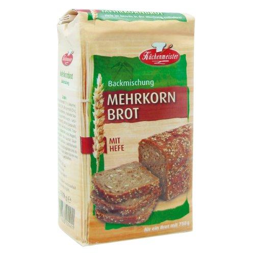 Bielmeier-Küchenmeister Brotbackmischung Mehrkornbrot,...
