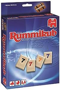 Jumbo 03942–Travel Rummikub, Compact Jeu