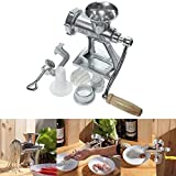 KaariFirefly Multifunctional Hand Operating Crank Meat Grinder Heavy Duty Cast Manual Mincer