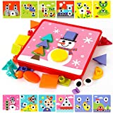 Joyibay Baby Puzzle Spielzeug Plastikgeometrisches Pädagogisches Kleinkind-Spielzeug Anerkennungsspielzeug