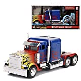 Jada Toys Transformers Diecast Model 1/32 T1 Optimus Prime Vehicles