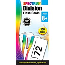 Division Flash Cards (Spectrum Flash Cards)
