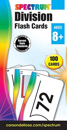 Spectrum Division Flash Cards (Carson-Dellosa)