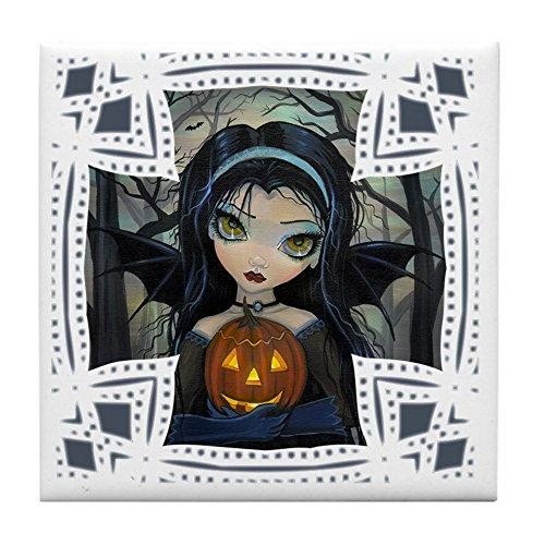 CafePress–Oktober Woods Halloween Kunst–Tile Untersetzer, Drink Untersetzer, Untersetzer, Klein