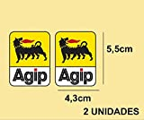 PEGATINAS STICKERS AGIP REF: PD257 AUFKLEBER DECALS AUTOCOLLANTS ADESIVI MOTO DECALS MOTROCYCLE COLORES IMAGEN/IMAGE COLORS