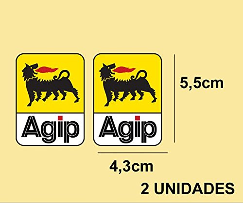 pegatinas-stickers-agip-ref-pd257-aufkleber-decals-autocollants-adesivi-moto-decals-motrocycle-color
