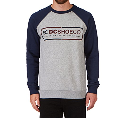 Herren Sweater DC 3 Two 1 Crew Raglan Sweater Blue Iris