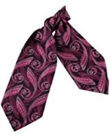 ERA7B04 Various of Colors Silk Ascot Patterned Mens Cravat Great Gift By Epoint