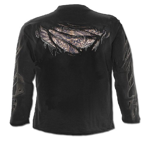 Spiral Death before Dishonour Langarm Shirt - Unisex Black
