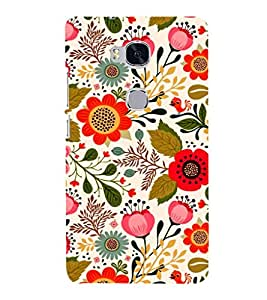 EPICCASE blossom flower Mobile Back Case Cover For Huawei Honor 5X (Designer Case)