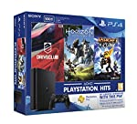 PS4 Slim 500GB  with PS4 Horizon zero dwan, PS4 Ratchet and Clank, PS4 Driveclub, get 3 months membership with this pack inside box