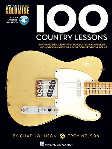 Johnson & Nelson: 100 Country Lessons (Book/Cd) (Guitar Lesson Goldmine)