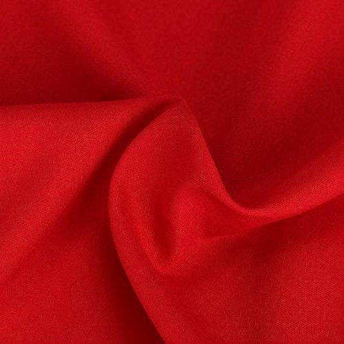 Jupe, Rawdah Stretch Haute Taille Skater FlambéE Plissée Swing Longue Jupe Robe Rouge