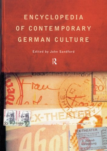 Encyclopedia of Contemporary German Culture (Routledge World Reference)