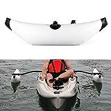 Lixada Kayak estabilizador PVC Inflable Outrigger Kayak Canoa Barco de Pesca de Pie...