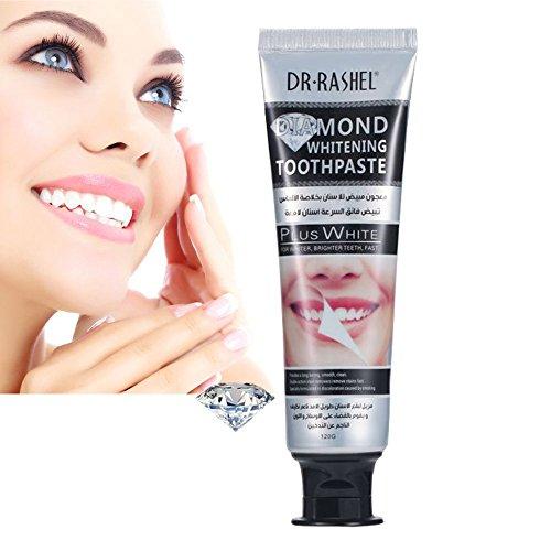 Cocohot Teeth Whitening Toothpaste Pfefferminze Zahnpasta Für Zahnbleaching, Zahnreinigung, erfrischender Atem (Kristallbleichen) - Pfefferminze Whitening Zahnpasta