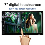KKmoon 7' Reproductor Multimedia Pantalla Táctil MP5 2 Din HD con...