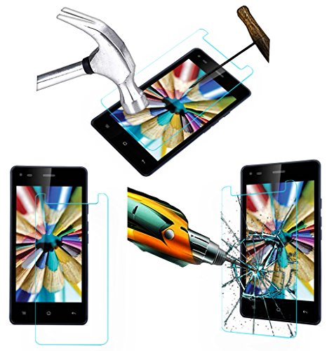 Acm Tempered Glass Screenguard For Iball Andi 4.5v Baby Panther Mobile Screen Guard Scratch Protector  available at amazon for Rs.179