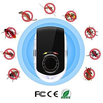 Répulsif antiparasitaire à ultrasons, Lypumso Électronique Plug-in Pest répulsif Souris Propeller Souris d'intérieur, Moustique, Pest, Insectes & Contrôle des rongeurs Repeller Pest Control