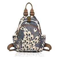 YOVIEE Designer Women Multicotton Prints Backpack Multipurpose Backpack for Ladies Artistic Pattern Girl