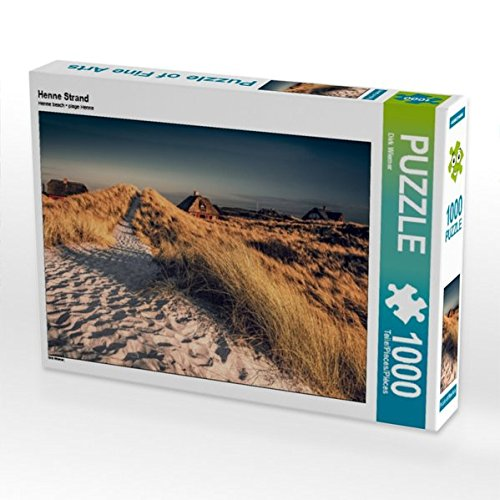 Henne Strand 1000 Teile Puzzle quer (CALVENDO Natur)