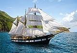 Unbekannt PUZZLE 500 Teile - Segelschiff - Schiff Meer Boot Kinder Bild sailing Ship Castorland Schiffe
