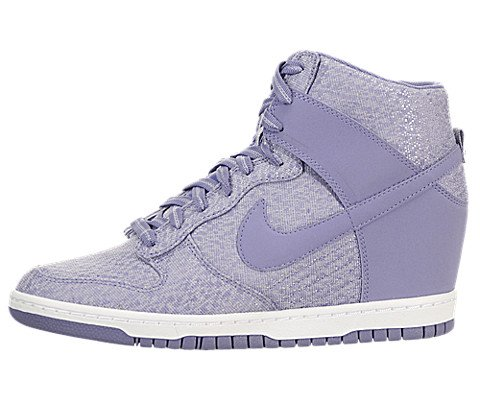 Nike Wmns Dunk Sky Hi Txt Irn Prpl/rn Prpl-Wlf Grey-White Violet/Vilet-grslou-Blanc Running Shoes - 6 UK/India (44 EU)(10 US)  available at amazon for Rs.5596