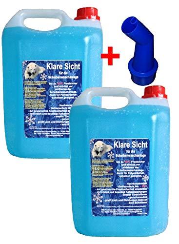 2X 10 Ltr. Scheibenfrostschutz Konzentrat Frostschutz -30°C Scheibenreiniger Top