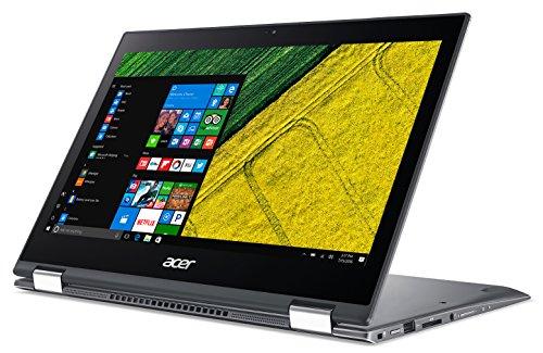Acer Spin SP513-52NP-584F 1.6GHz i5-8250U 13.3Zoll 1920 x 1080Pixel Touchscreen Grau Hybrid (2-in-1), NX.H0EEG.002