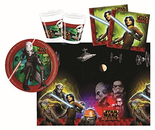 Procos 10108559B - Set di accessori per feste, motivo: Star Wars Rebels, 37 pezzi