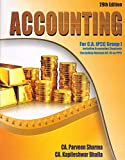 Pooja Law House's Accounting for CA IPCC Group I May 2018 Exam by CA. Parveen Sharma
