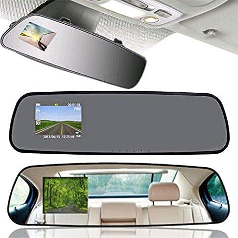 mingchang 2.4HD auto Specchio retrovisore guida registratore veicolo Dash Cam
