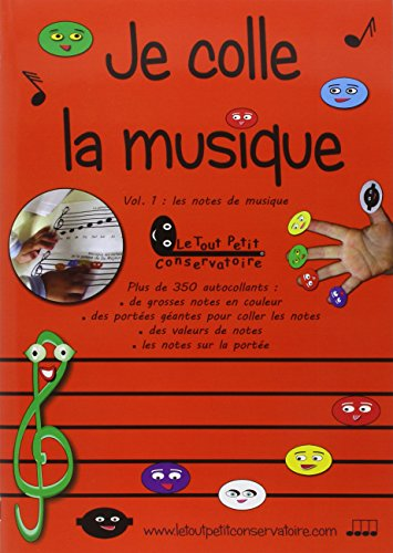 Je colle la Musique Vol1 Les notes sur la portée