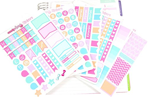 matte-vinyl-pastel-monthly-kit-kawaii-planner-organiser-sticker-pack-6-sheets