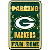 Fremont Die NFL Green Bay Packers Kunststoff Parking Signs