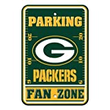 NFL Green Bay Packers Plastic Parking Signs