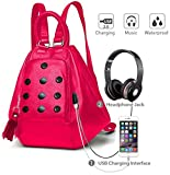 Best Backpack Pinks - Deal Especial 3 way use girls Stylish designer Review