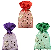 Miracle Perfume Potli. Set of 3 Pieces. Assorted Fragrances. Car Air Freshener. 12 Months Perfume