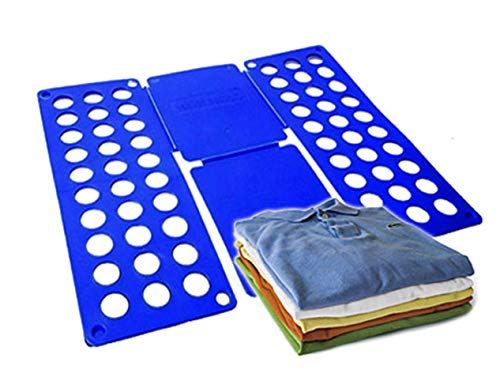 DOBLADOR DE ROPA XXL o permite doblar la ropa en tres segundos o ligera o ocupa poco espacio o plástico o 60 x 70 cm o #637