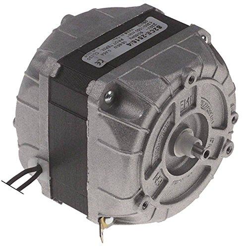 Lüftermotor 230V 16W 50/60Hz Welle ø 6/7mm Höhe 79mm Breite 83mm Länge 83mm Welle 12mm