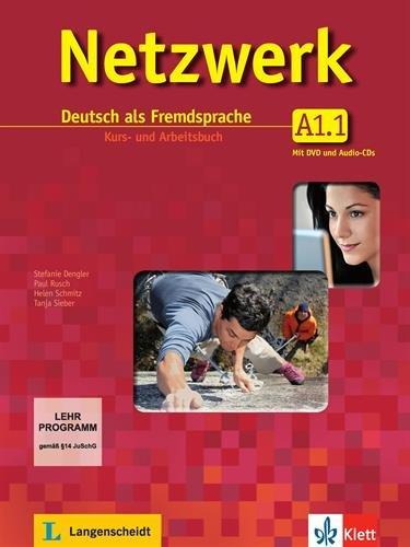 Netzwerk a1, libro del alumno y libro de ejercicios, parte 1 + cd + dvd por Helen Schmitz
