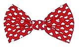 Noddy & Sweets Fliege für Hunde Halsband [Herzen rot]