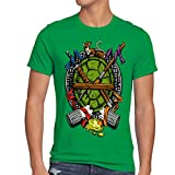 Photo de style3 Tortue Héroïque T-Shirt Homme Turtles Teenage Comic Mutant Ninja par style3