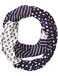 Sperry Top-Sider Women's Triple Print Infinity Scarf
