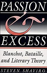 Passion and Excess: Blanchot, Bataille and Literary Theory