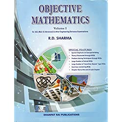Objective Mathematics for JEE (Main & Advanced) and Other Engineering Entrance Examinations (Set of 2 Volumes)