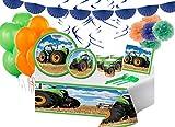 Irpot Kit n 68 Addobbi Festa Compleanno Personaggio a Scelta (Trattore)