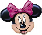 Anagram 0776501 - Party und Dekoration - Folienballon Super Shape - Disney Minnie Mouse, circa 71 x 58 cm