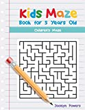 Kids Maze Book for 5 Years Old: Children's Maze: Volume 1 (Maze book for 5 year old)