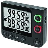 Marathon ti030017p großes Display 100Stunde Dual Count Up/Down Timer schwarz